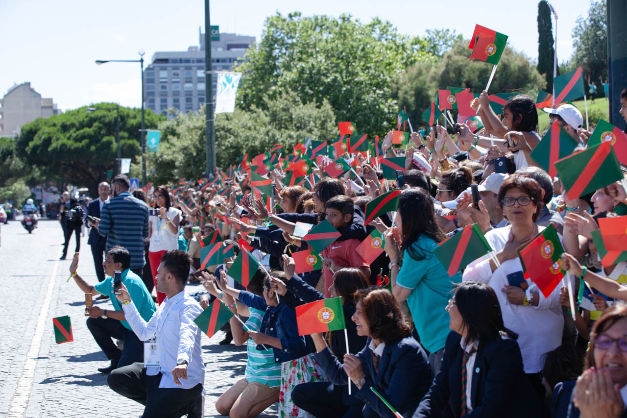 The Ismaili Flag and the flag of Portugal, Diamond Jubilee Aga Khan, Barakah