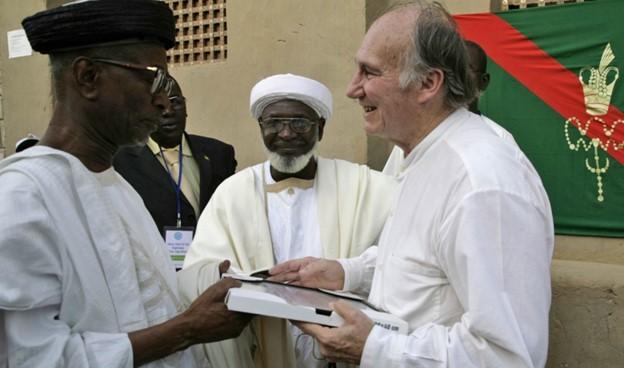 Aga Khan Ismaili Imamat Flag in Timbuktu Mali