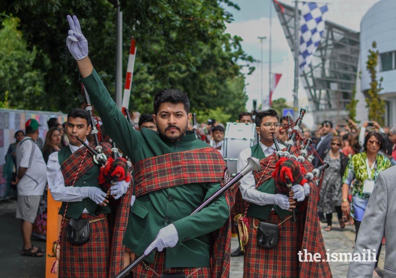 Aga Khan Band at Diamond Jubilee celebrations in Lisbon, Barakah