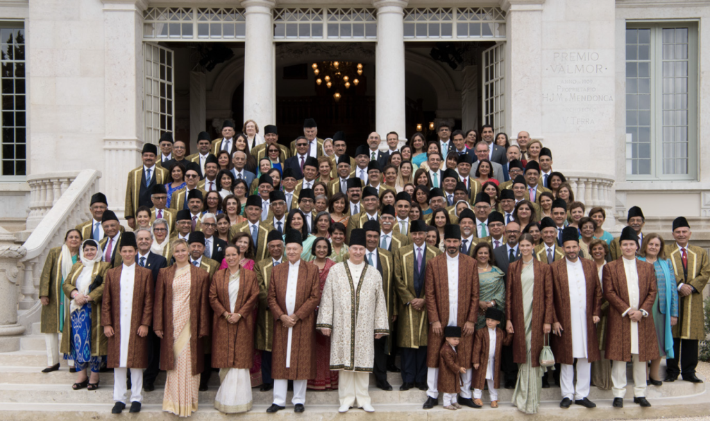 Henrique Mendonça Palace Aga Khan with Ismaili leaders the diwan of the Imamat
