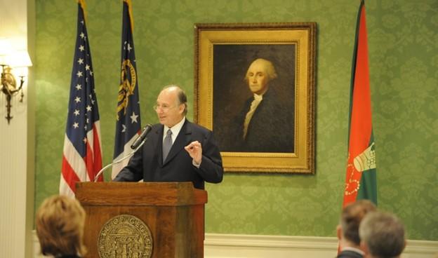 George Washington Aga Khan Imamt Flag Barakah simerg