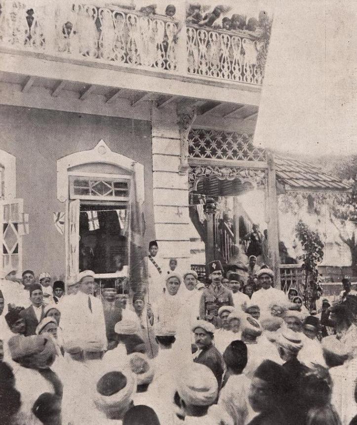 Ismaili flag raising ceremony andheri