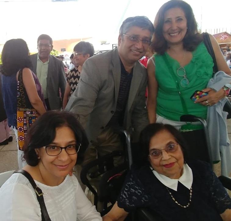 Aga Khan Diamond Jubilee Lisbon, Mrs. Merchant and the Alibhoys