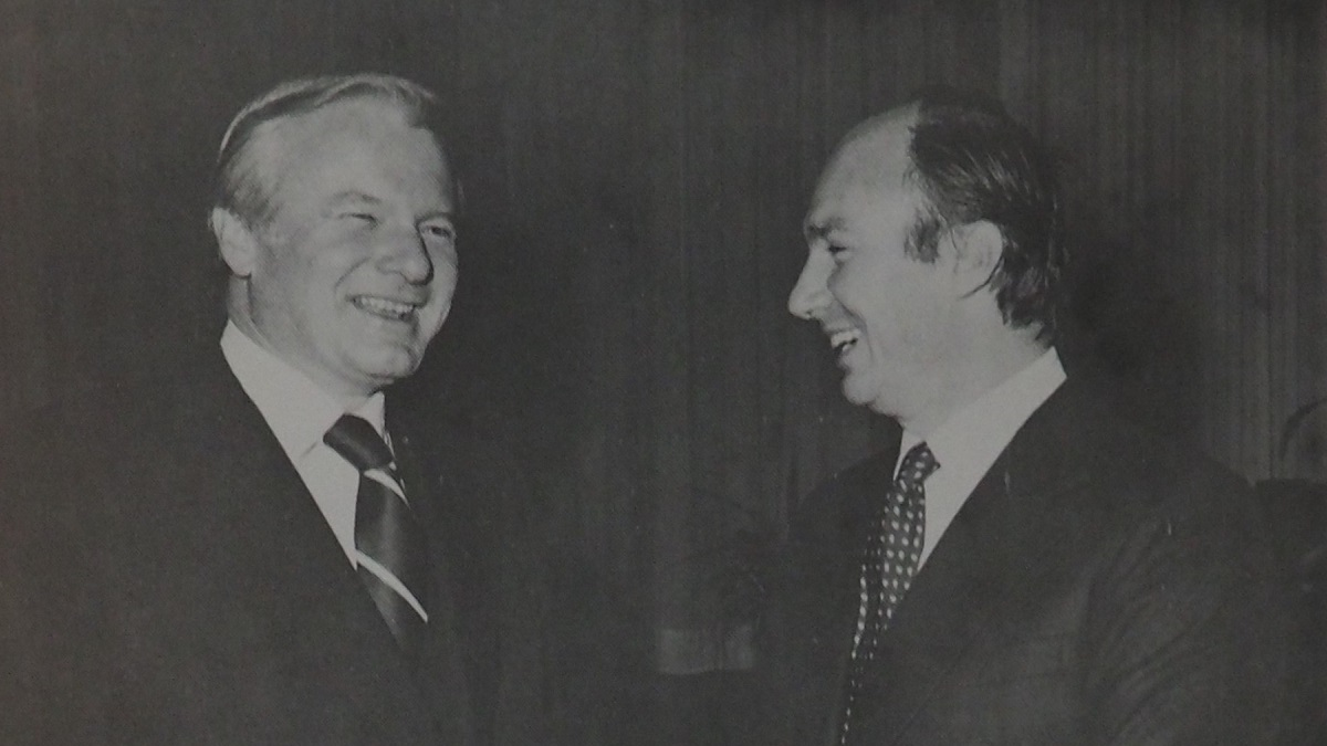 Remembering the Late William Davis,  Premier of Ontario During His Highness the Aga Khan's Visits to Canada in 1978 and His Silver Jubilee in 1983