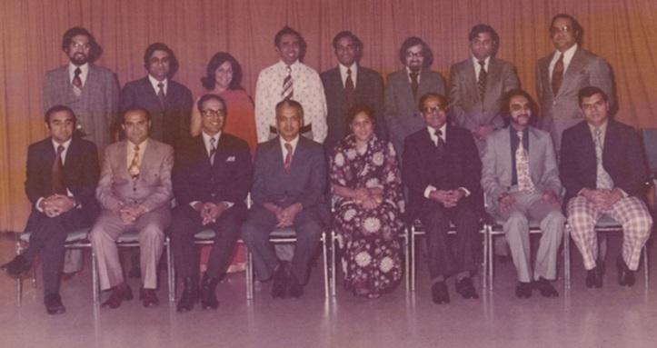 Prince Amyn Aga Khan visit to Canada 1973. The First Aga Khan Regional Council of Ontario & Quebec 1973.