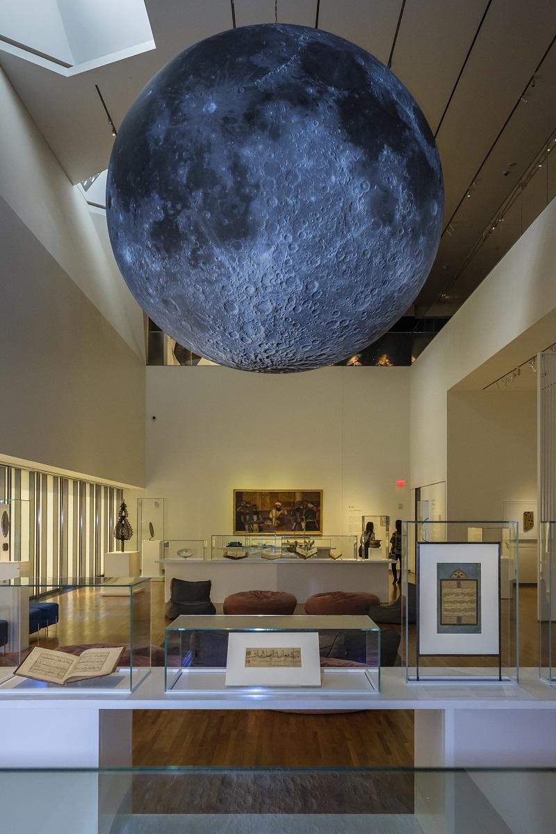 Moon a voyage through time aga khan museum