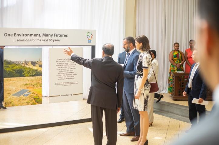 Prince Rahim Aga Khan and Princess Salwa Kenya barakah.com tribute to prince rahim aga khan