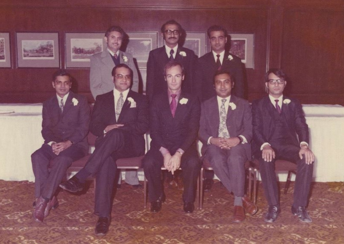 Prince Amyn Aga Khan's 1973 visit to the Ismaili Jamat in Toronto, Canada
