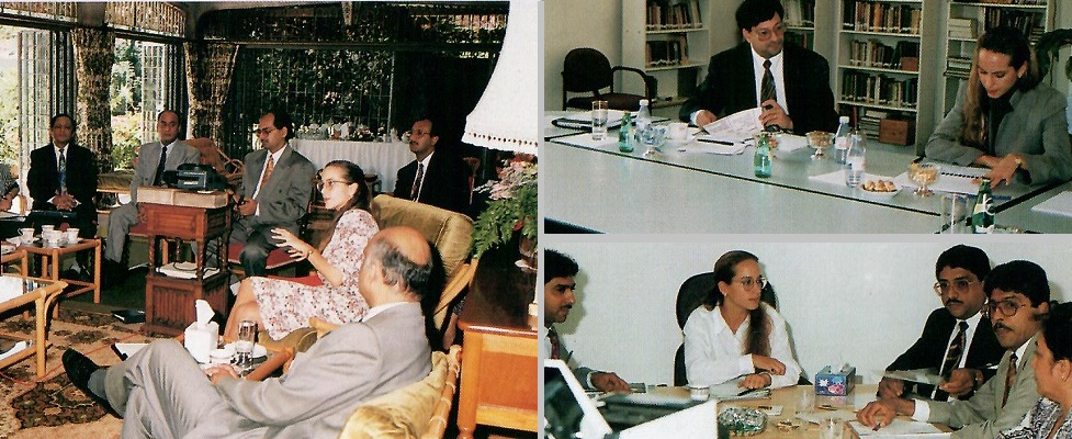 Princess Zahra Aga Khan meets with Ismaili institution officers and members responsible for women's, youth and social welfare portfolios