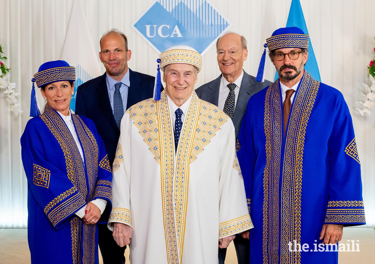 Aga Khan University of Central Asia convocation Prince Rahim Birthday tribute