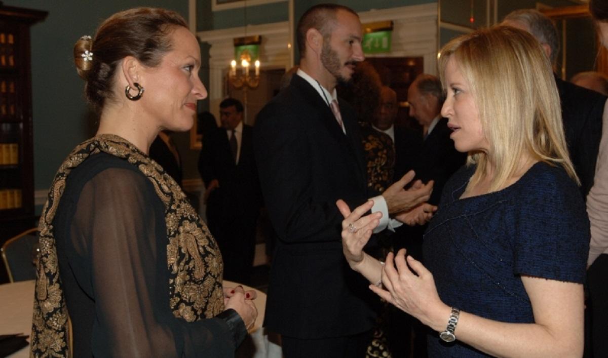 Princess Zahra Aga Khan in conversation with Kim Samuel-Johnson, President of The Samuel Family Foundation of Canada. Barakah Prince Rahim Tribute