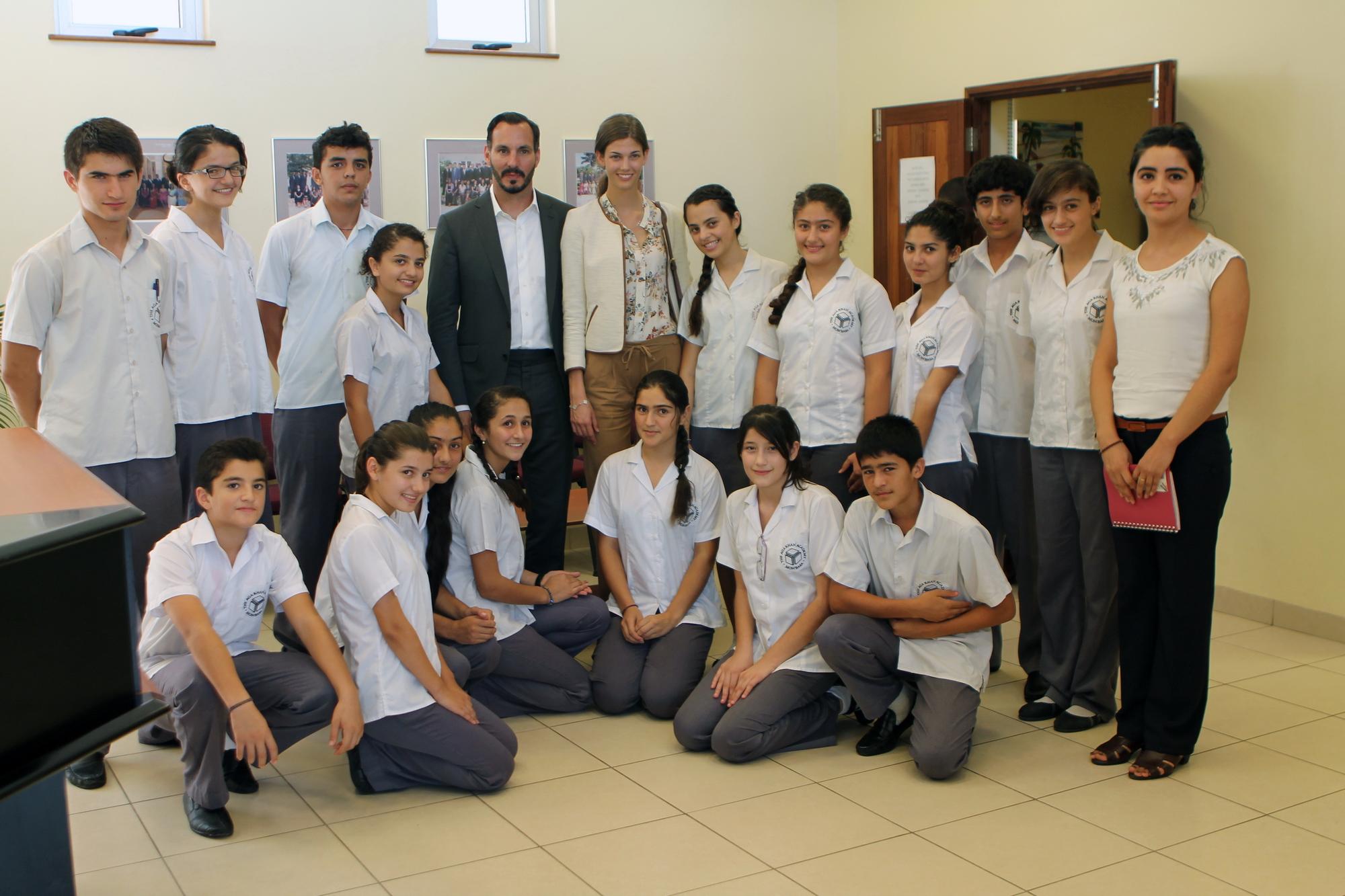 Prince Rahim Aga Khan and Princess Salwa Mombasa Academy barakah.com tribute to prince rahim aga khan