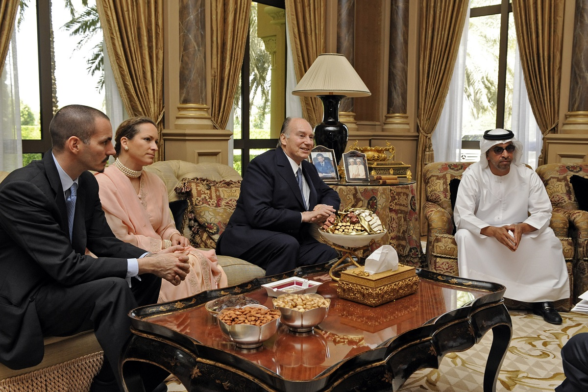 Aga Khan in Emirates barakah.com tribute to prince rahim aga khan