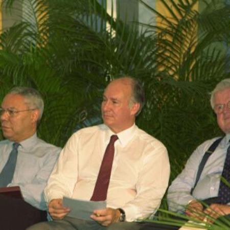 Colin Powell, Aga Khan and Kennedy at Smithsonian Folklife Festival Barakah