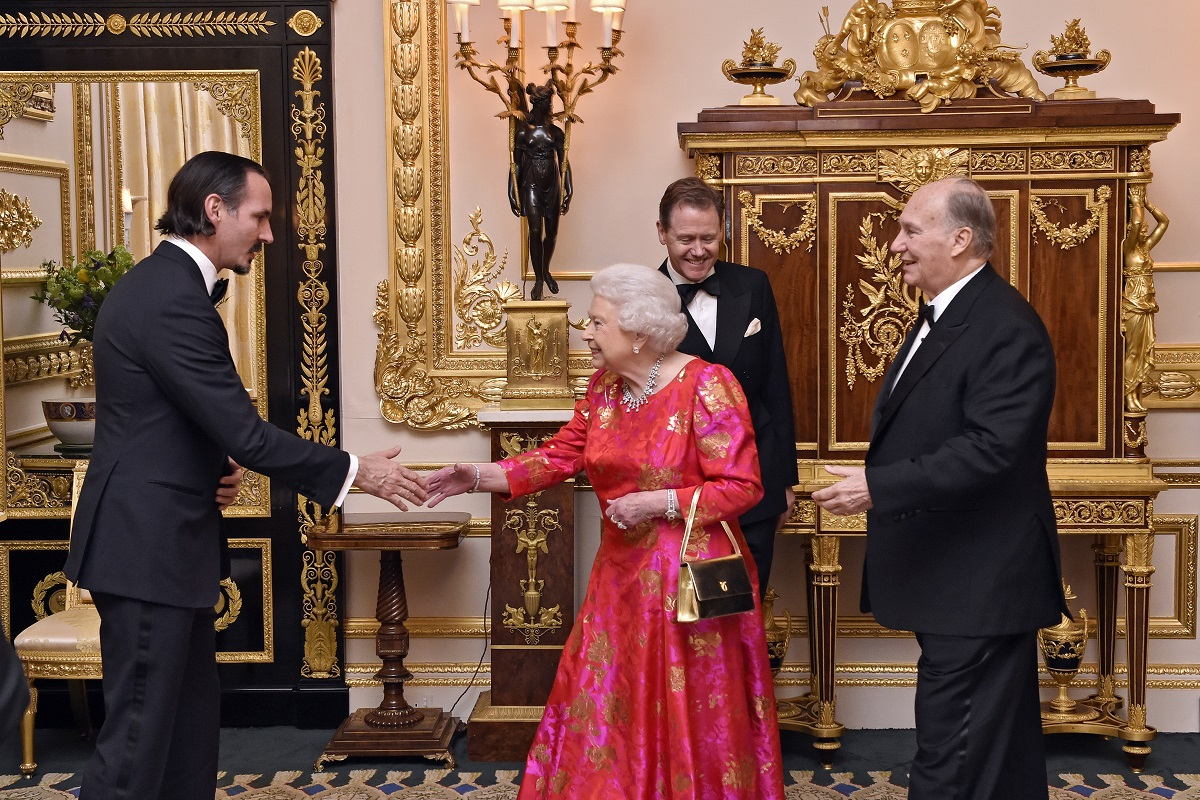 Aga Khan Hosted by Queen at Windsor Castle for his Diamond Jubilee. barakah.com tribute to prince rahim aga khan