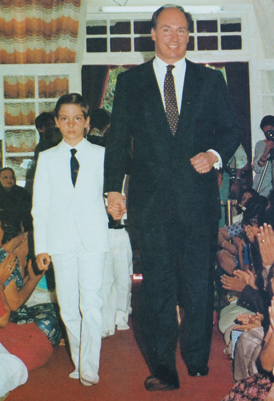 Aga Khan and Prince Rahim barakah.com tribute to prince rahim aga khan